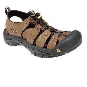 Keen Newport Washable Leather Bison Sandals